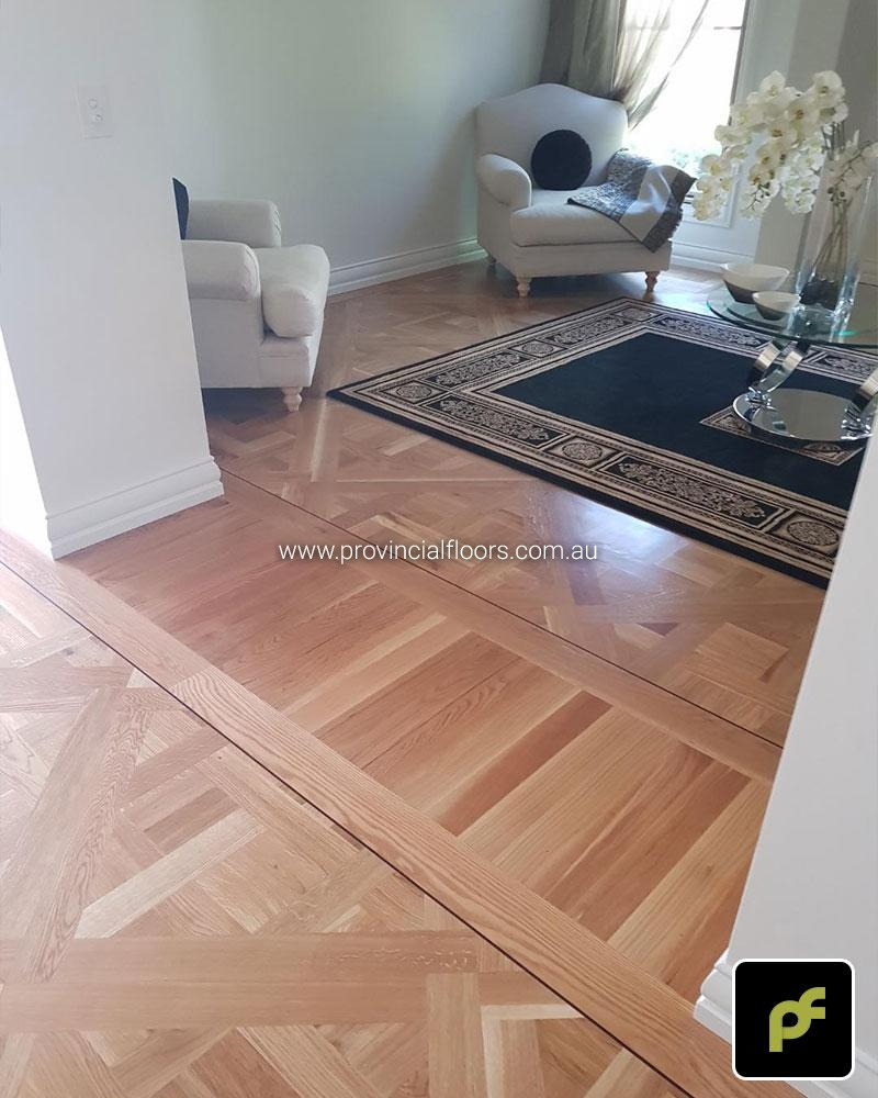 French Marie Antoinette Paneled Parquetry 2